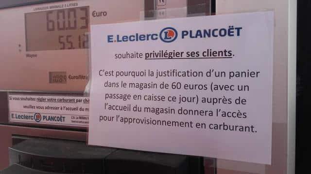 E.Leclerc, du refus de vente sur fond de pénurie.